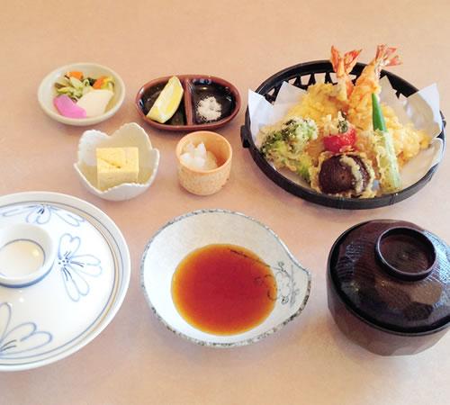 天ぷらごはん